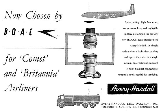 Avery-Hardoll Aircraft Re-Fuelling Equipment