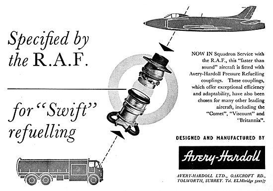 Avery-Hardoll Aircraft Pressure Refuelling Equipment