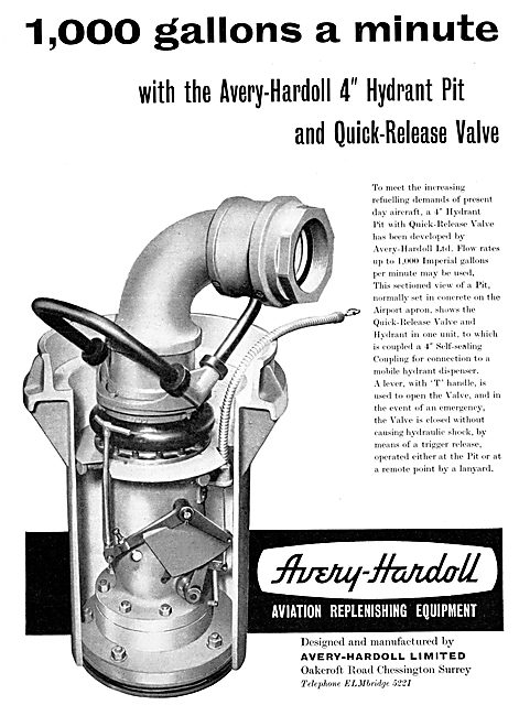 Avery-Hardoll Aircraft Refuelling Equipment