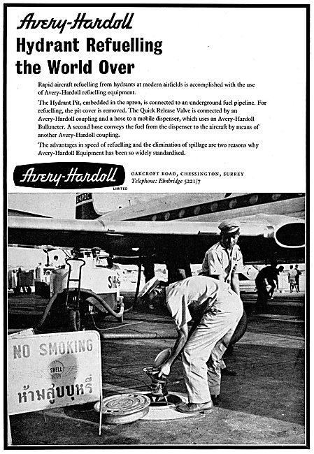 Avery-Hardoll Airport Hydrant Refuelling Installations