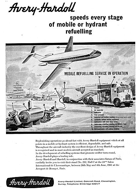 Avery-Hardoll Airport Mobile & Hydrant Refuelling Installations