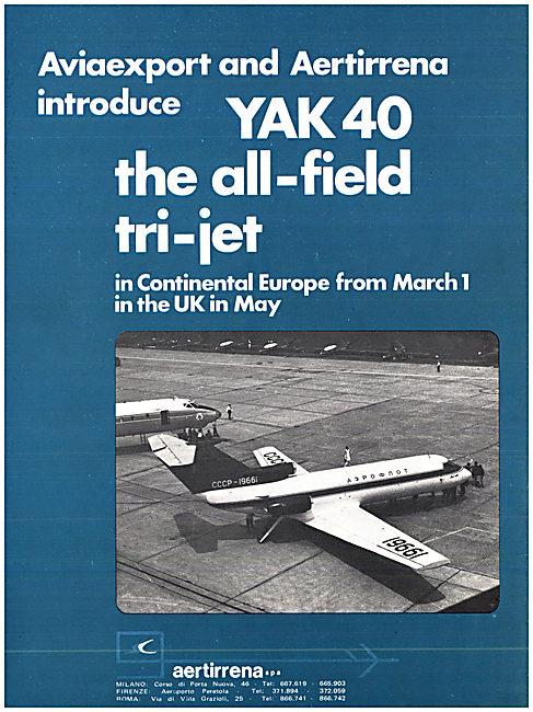 AviaExport Yak 40