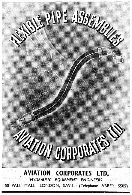 Aviation Corporates: Flexible Pipe Assemblies
