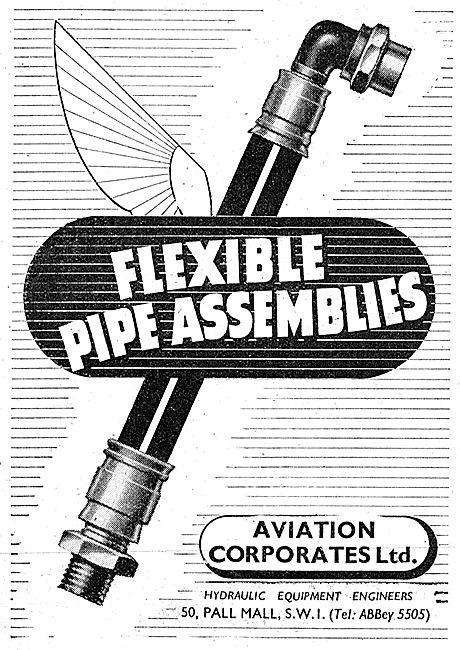 Aviation Corporates: Flexible Hydraulic Hose  Assemblies
