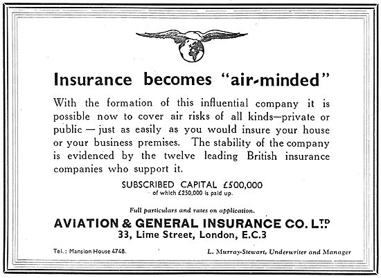 Aviation & General Insurance - Aviation Risks - Air Minded