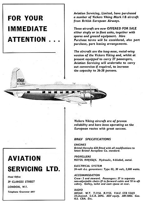 Aviation Servicing Ltd - Blackbushe