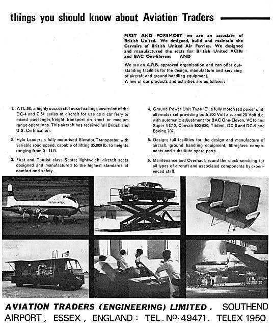Aviation Traders Engineering - Cargo Handling Equipment