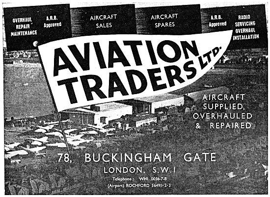 Aviation Traders - 1950 Advert