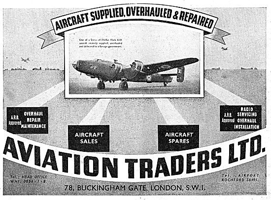 Aviation Traders. Aircraft Sales, Overhaul & Repairs