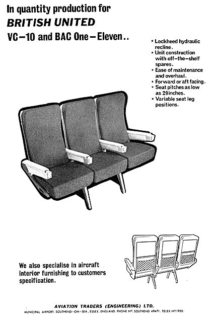 Aviation Traders Cabin Seating