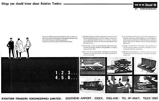 Aviation Traders Aircraft Engineering & Ground Handling Eqpt