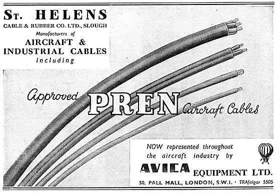 Avica Equipment - St Helen's PREN Aircraft Cables