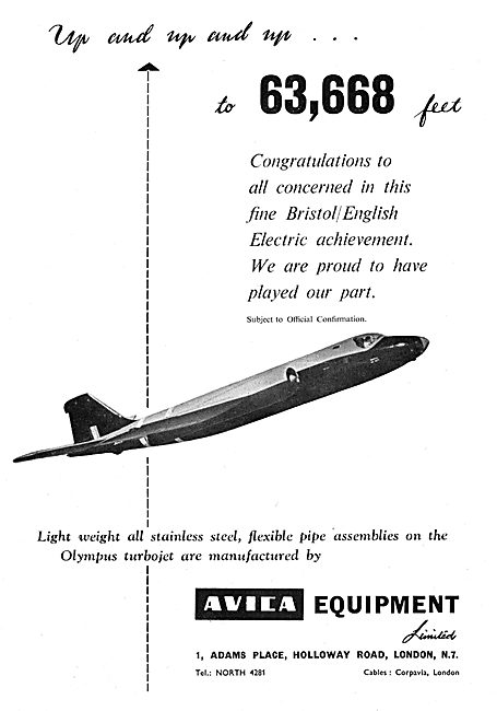 Avica Pipes, Pipework, Assemblies & Associated Equipment