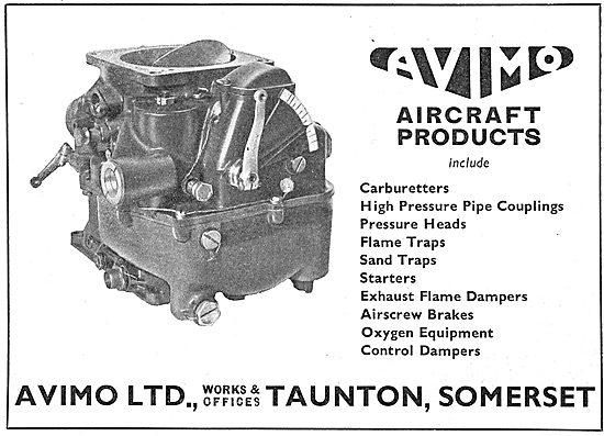 Avimo Aircraft Carburetters