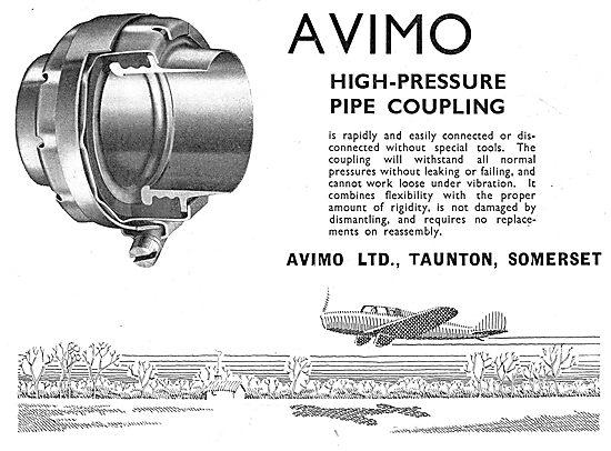Avimo High Pressure Pipe Couplings