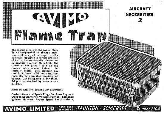 Avimo Flame Trap
