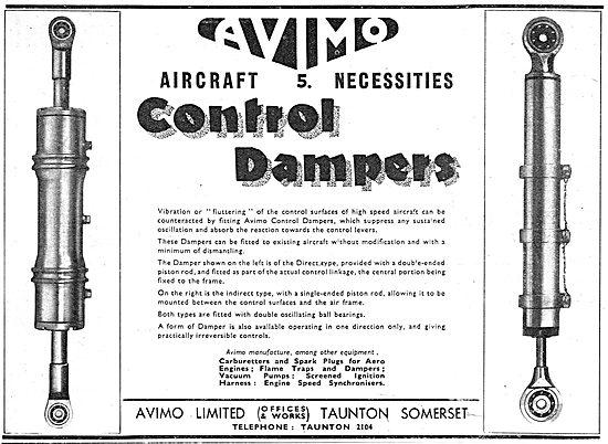 Avimo Aircraft Control Damper