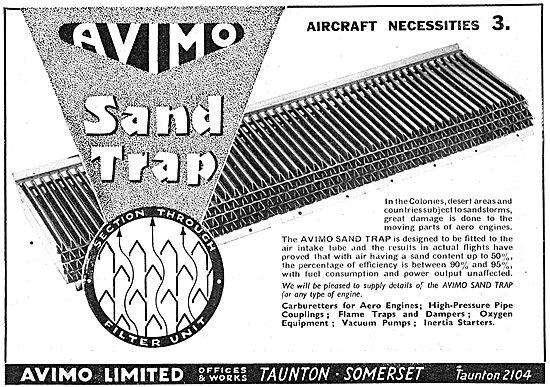 Avimo Aircraft Sand Trap