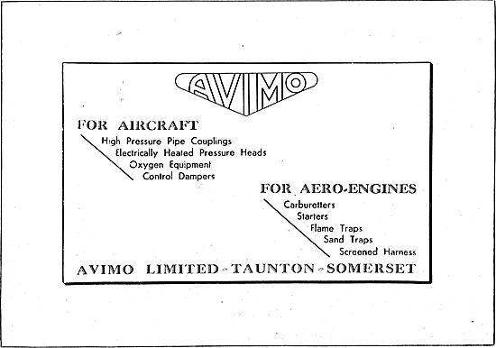 Avimo Aircraft Control Dampers