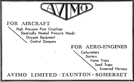Avimo Components For Aircraft & Aero-Engines
