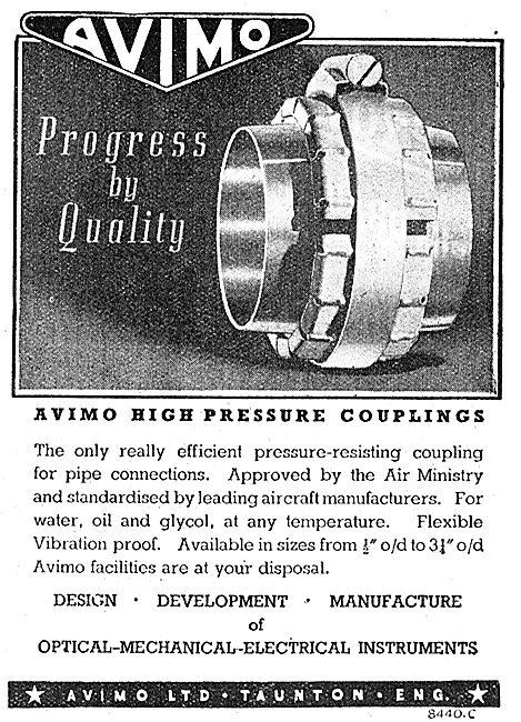 Avimo High Pressure Coupling