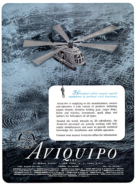 Aviquipo  Aviation Parts Stockists