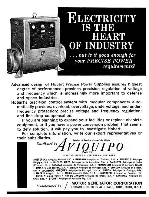 Aviquipo Electrical Equipment - Hobart