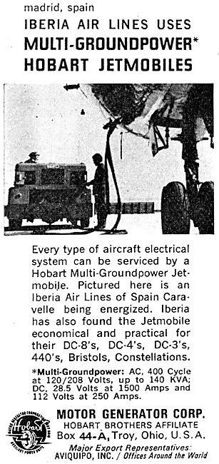Aviquipo Hobart Ground Power Jetmobiles