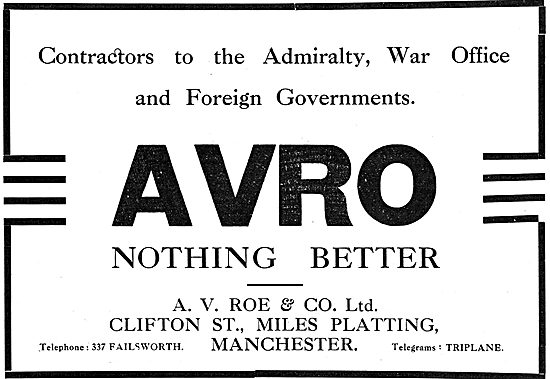 A.V.Roe & Co Cliftn St, Miles Platting, Manchester