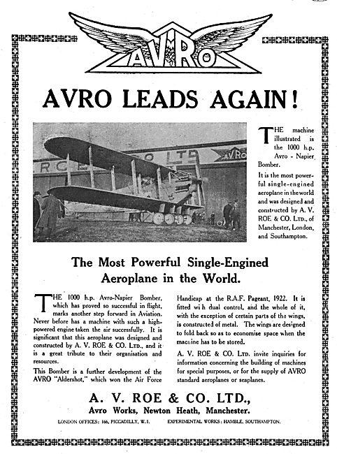 Avro Napier Bomber