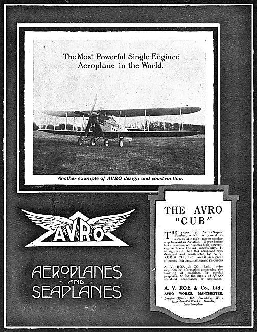 The Avro Cub