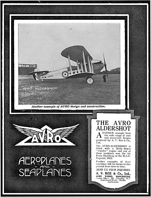 Avro Aldershot