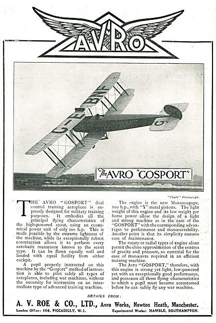 Avro Gosport G-EBNF