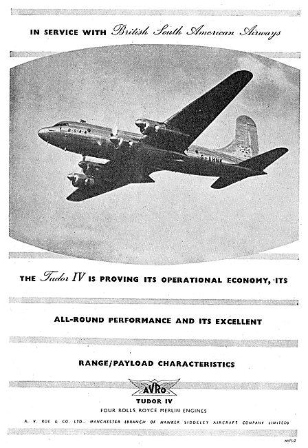 Avro  Tudor IV - BSAA