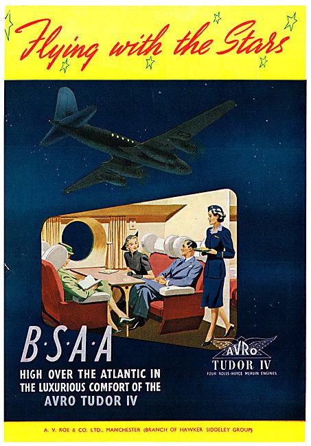 Avro  Tudor IV BSAA