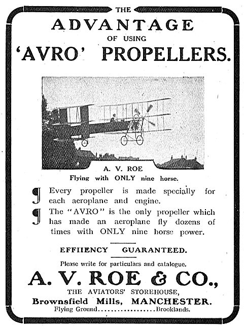The Advantage Of Using Avro Propellers
