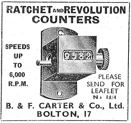 B.&F.Carter Ratchet & Revolution Counters