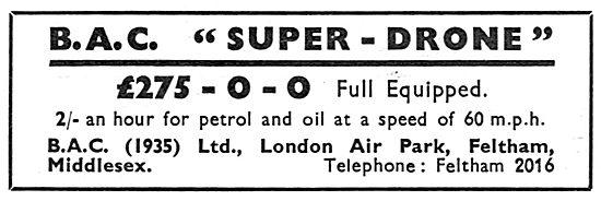British Aircraft Company: BAC Super Drone
