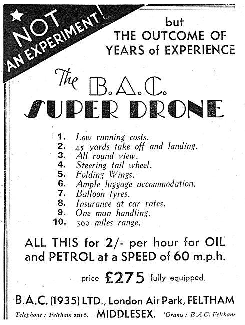 BAC Super Drone (1935)