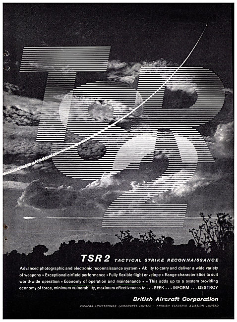 British Aircraft Corporation - BAC TSR2