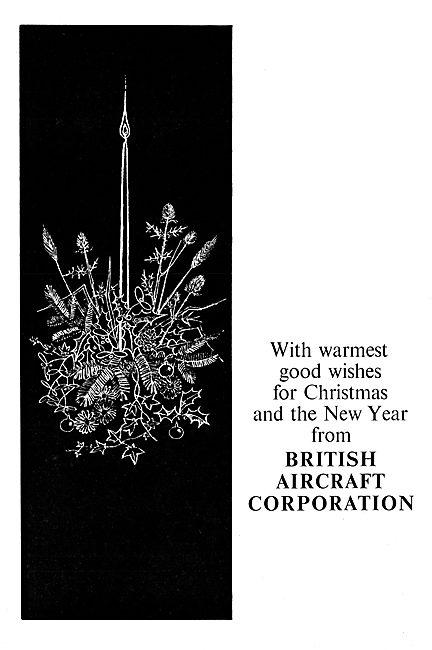British Aircraft Corporation - BAC Seasons Greetings