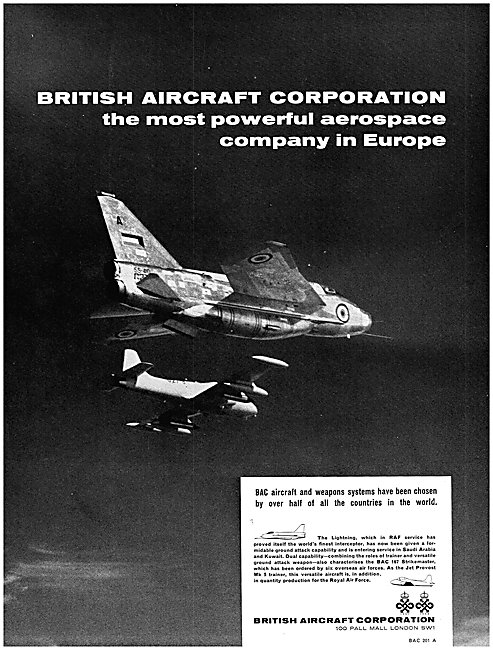 English Electric Lightning - BAC Lightning