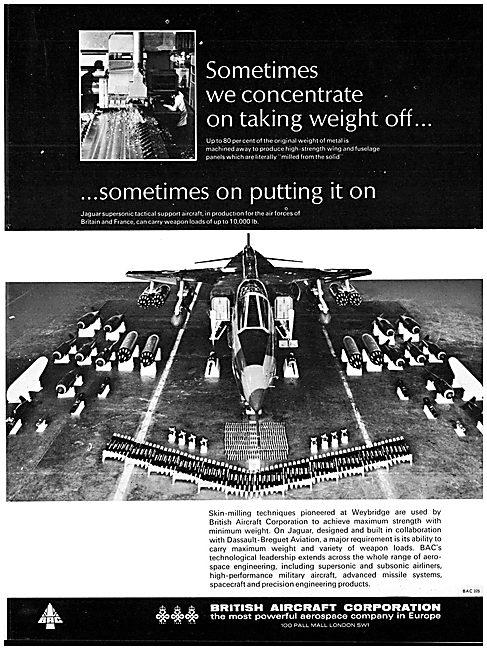 British Aircraft Corporation BAC SEPECAT Jaguar