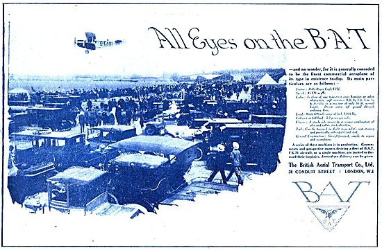 All Eyes On The BAT Commercial Aeroplane