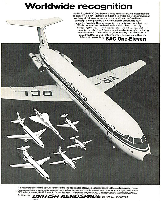 British Aerospace: BAe BAC 1-11