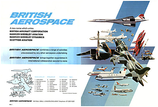 BAe British Aerospace AIrcraft & Missiles 1977