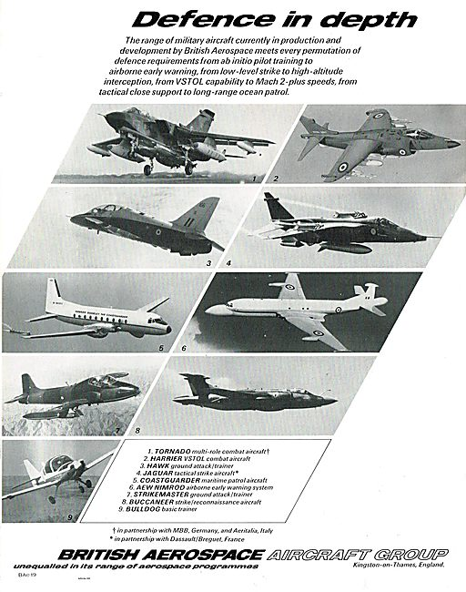 British Aerospace - Defence In Depth.