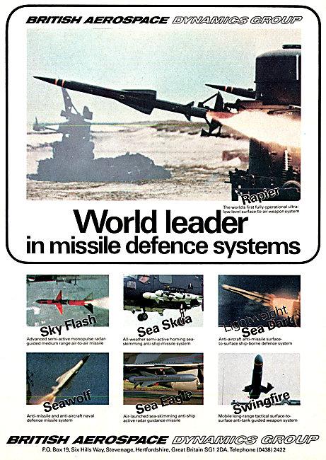 British Aerospace BAe Defence Systems - BAe Missiles