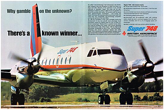 British Aerospace BAe 748 - BAe Super 748