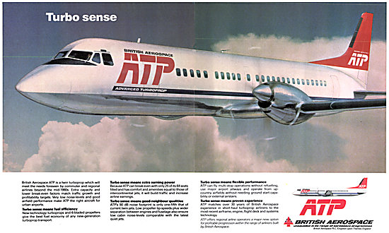 British Aerospace BAe ATP - BAe Advanced Turboprop